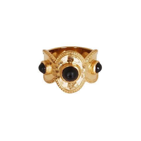 Lalana Ring in Black Onyx
