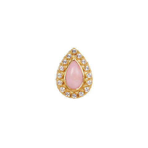 Natali Ring in Pink Opal