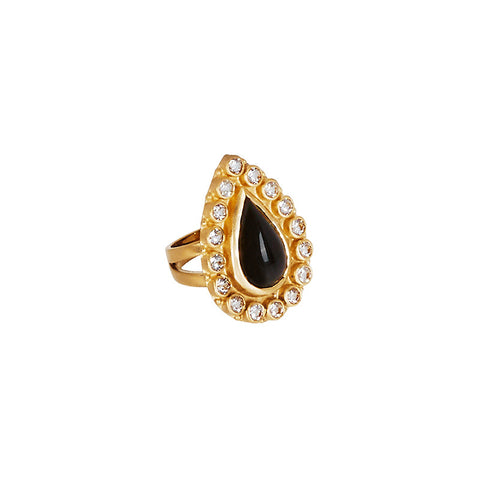 Natali Ring in Black Onyx