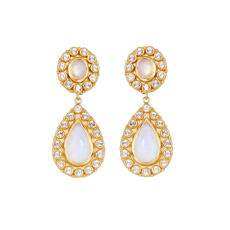 Natali Earrings in Moonstone (PRE-ORDER)