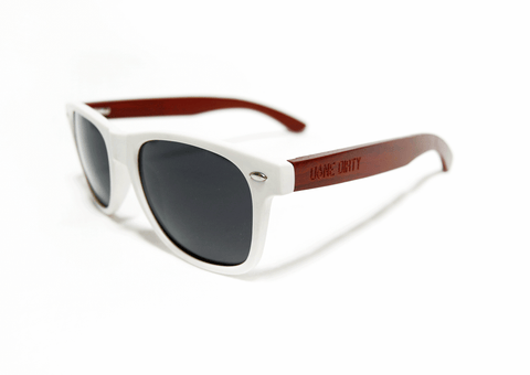 ROSEWOOD WHITE SUNNIES