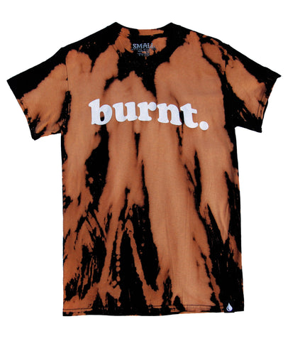Bleached Burnt Tee