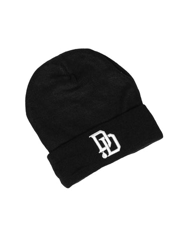 DD Drop Black Beanie