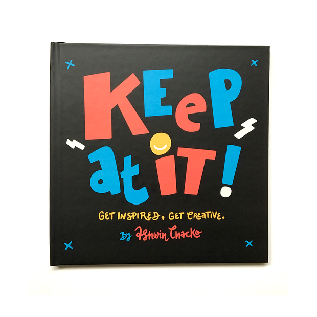 'Keep At It' by Ashwin Chacko