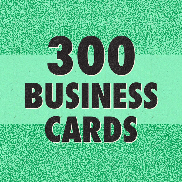 300 Business Cards Bundle