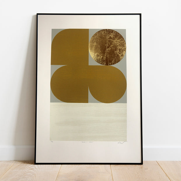 'Dawn I - Gold' by Alastair Keady