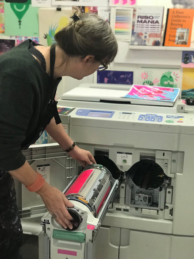 2021 Introduction to Risograph Workshop