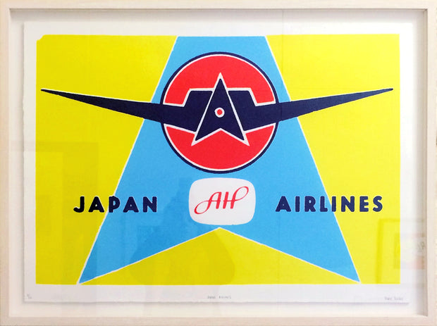 Japan Airlines by Marie Varley