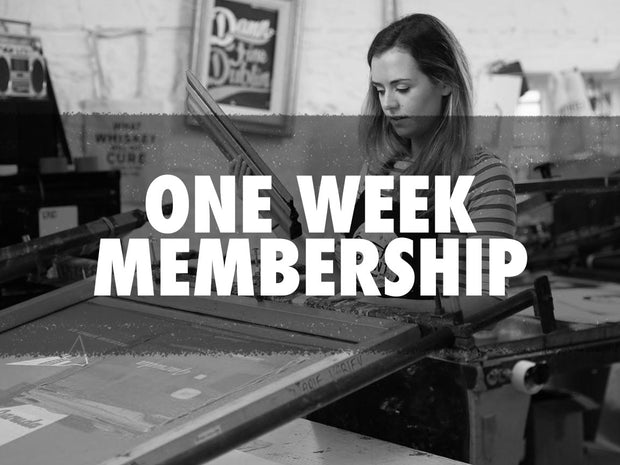 One Week Membership