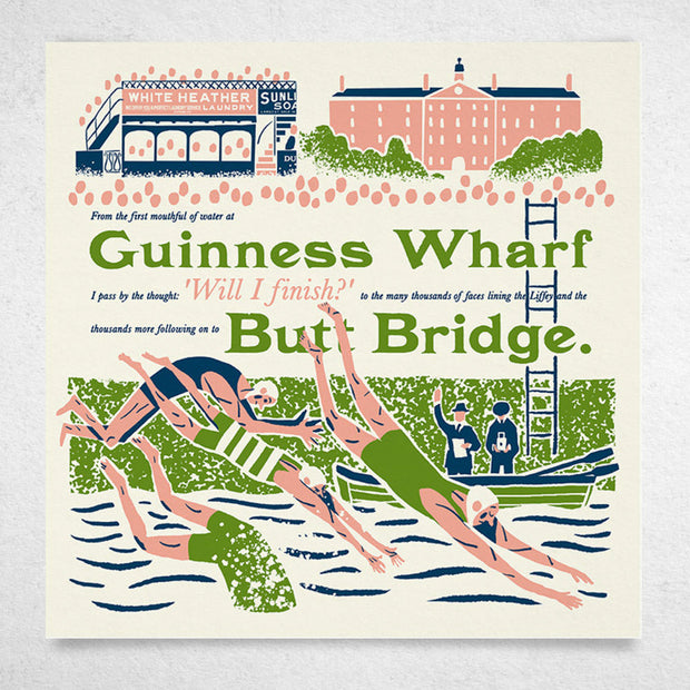 Guinness Wharf to Butt Bridge by Alan Dunne