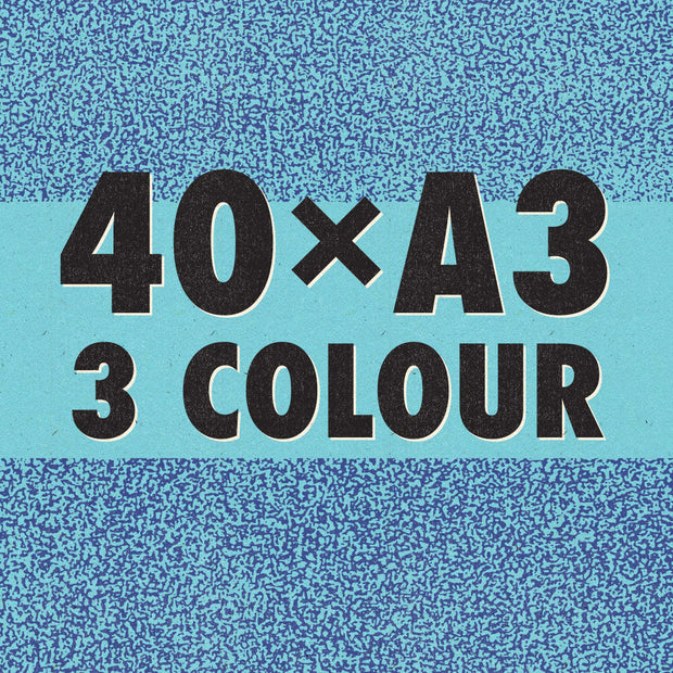 3-Colour A3 Risograph Bundle