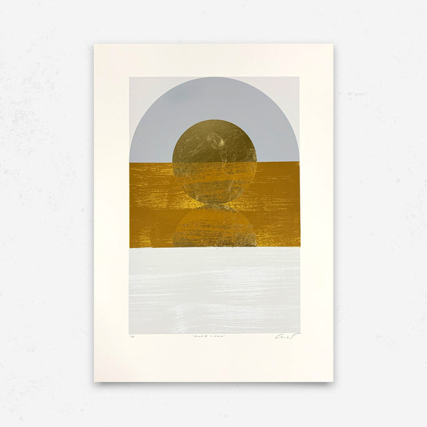 'Dawn II - Gold' by Alastair Keady