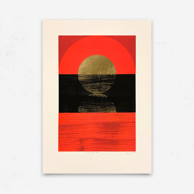 'Dawn II - Red' by Alastair Keady