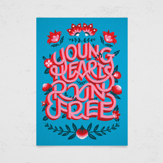 Young Hearts Run Free by Holly Pereira