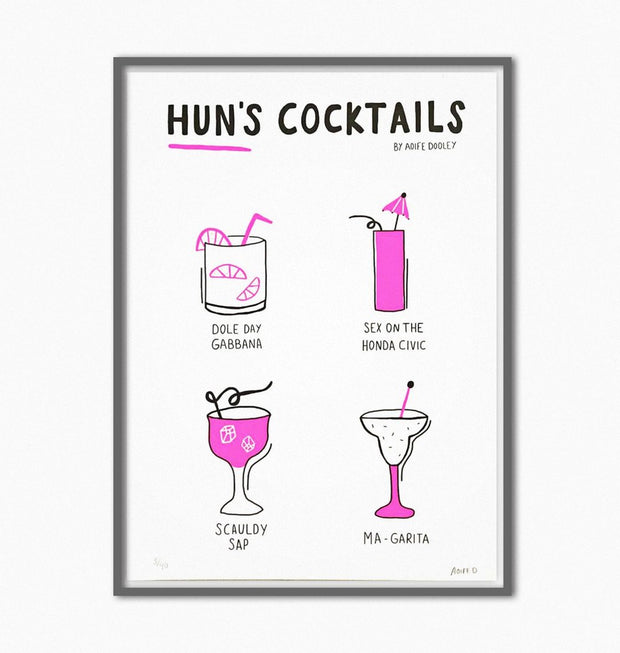 `Huns Cocktails'
