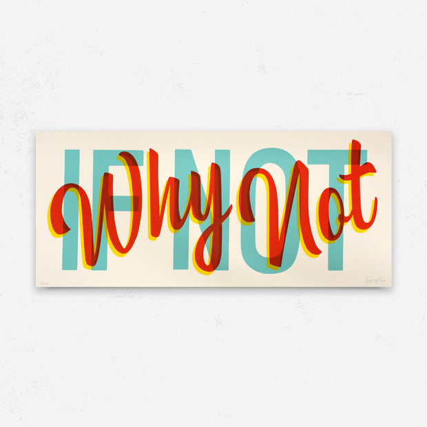 """If Not Why Not "" by Signs of Power"