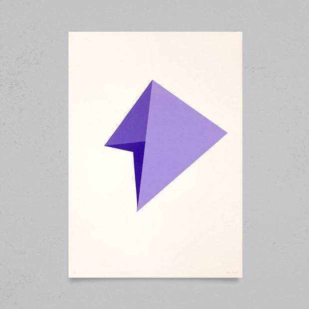 False Object, Purple  by Jack Barrett