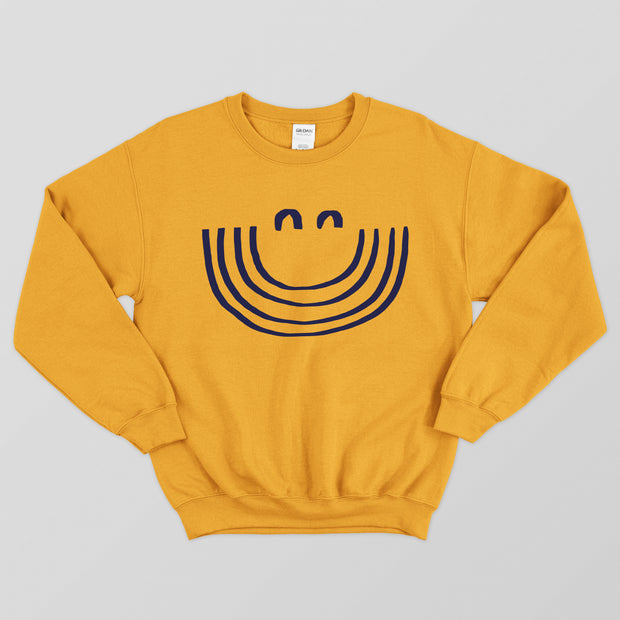 'Keep Smiling' Sweater by Whacko Chacko