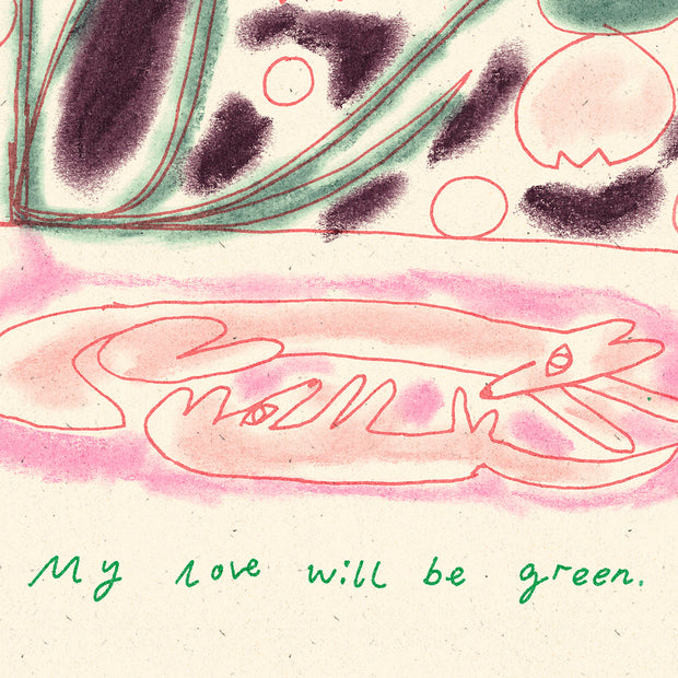 'My Love Will Be Green' by Molly Fairhurst