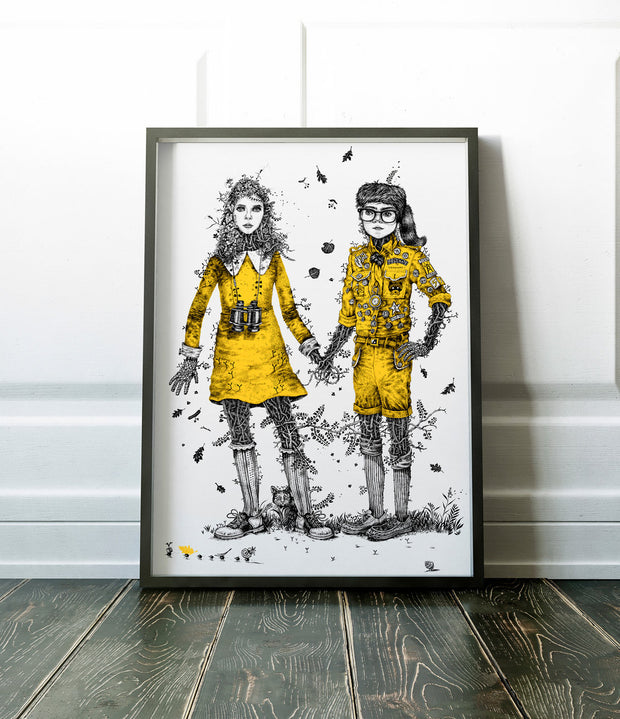 """Moonrise Kingdom "" by Monika Mitkute"