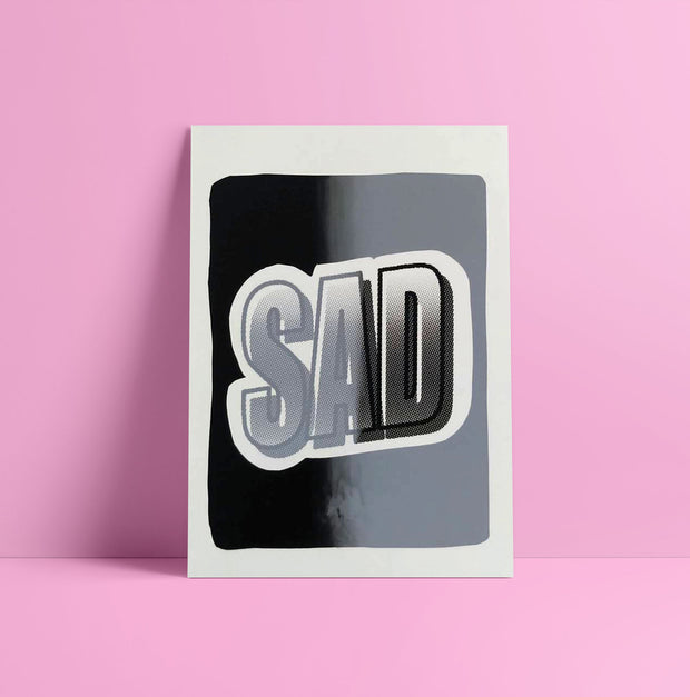 Sad - Gradient by Izzy Rose Grange