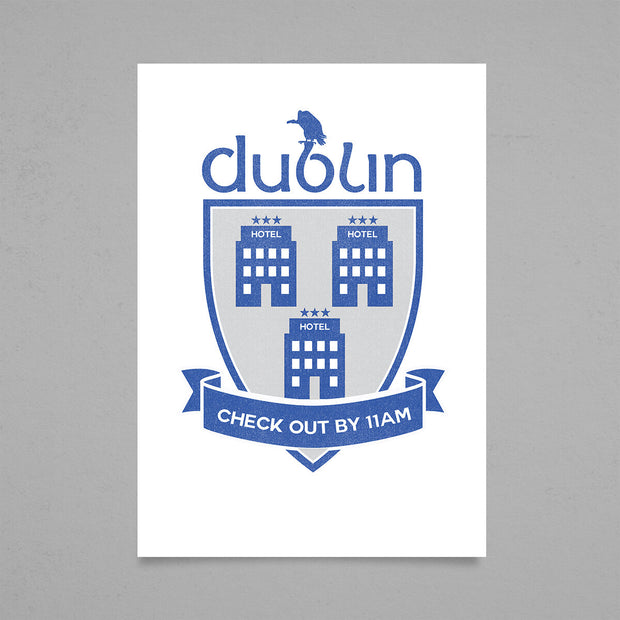 New Dublin Crest by Will St Leger
