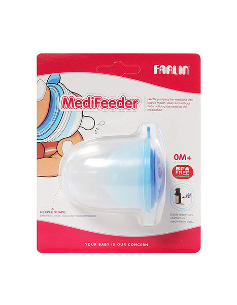 Farlin Medicine Feeder for Baby Blue - BF-19104
