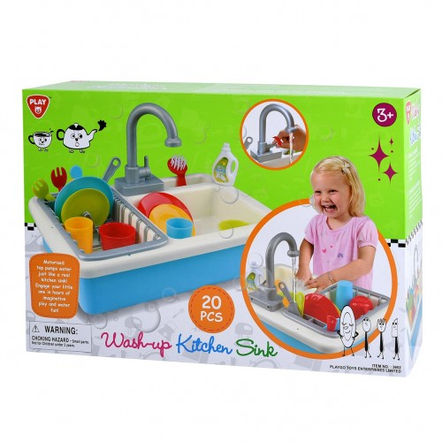 WASH-UP KITCHEN SINK B/O - 20 PCS - 3602