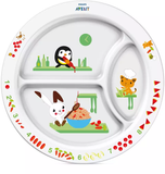 Toddler Divider Plate 12M+Neutral - SCF702/00