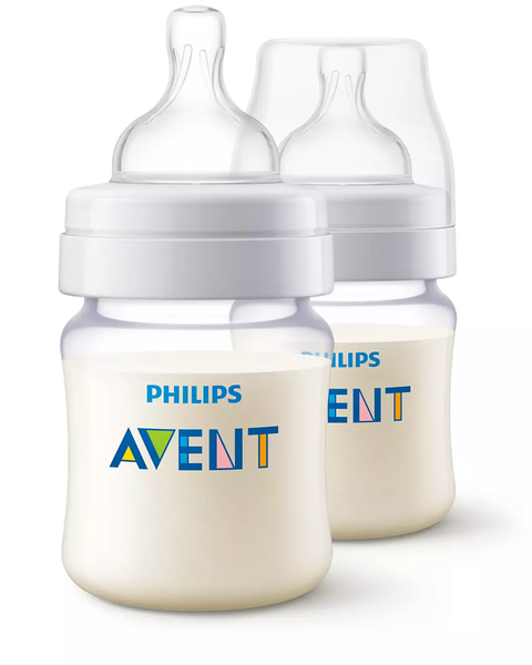 PA Classic+ Feeding Bottle 125ML pk2 - SCF452/27