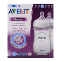 NATURAL II PP 260ML FEEDING BOTTLE PK2 - SCF693/23