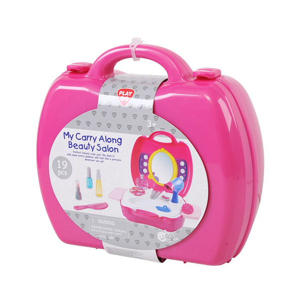 MY CARRY ALONG BEAUTY SALON 19PCS - 2788
