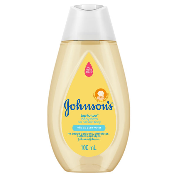 JOHNSON'S TOP TO TOE 100ML -13751
