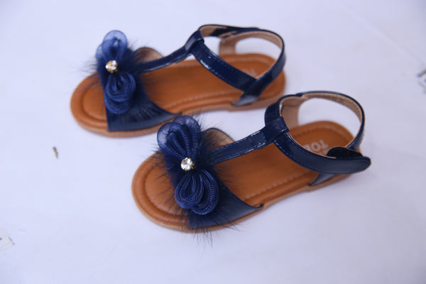 MEDIUM GIRL SANDAL NAVY/WHITE 26-31 - 19359