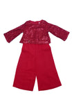 GIRL FANCY JUMP SUIT 2CLR - 19516