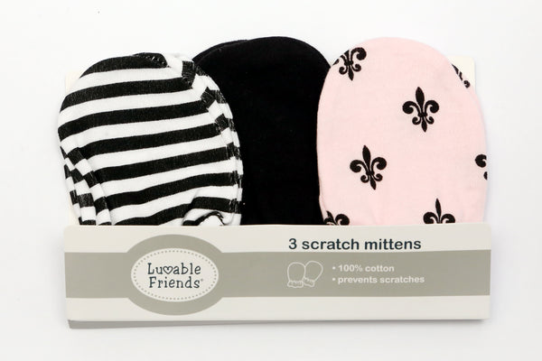 SCRATCH MITTEN SET 3PCS - 19677