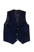 TURKEY BOY FANCY WAIST COAT 2CLR - 20329