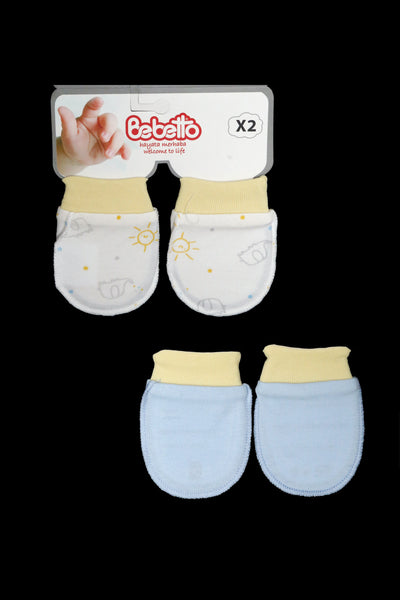 TURKEY BABA MITTENS PK2 - 20394
