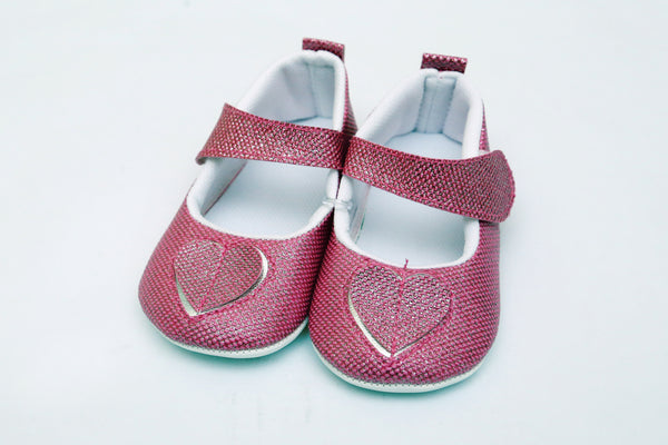 TURKEY BABY BOOTIES GLITTER 3CLR - 20440