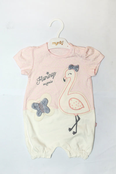 TURKEY BABY SHORT ROMPER - 20462