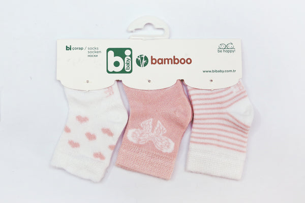 TURKEY BABY SOCKS PK3 - 20581