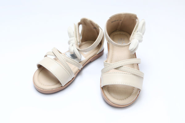 MEDIUM GIRL SANDAL BEIGE/SILVER - 21152