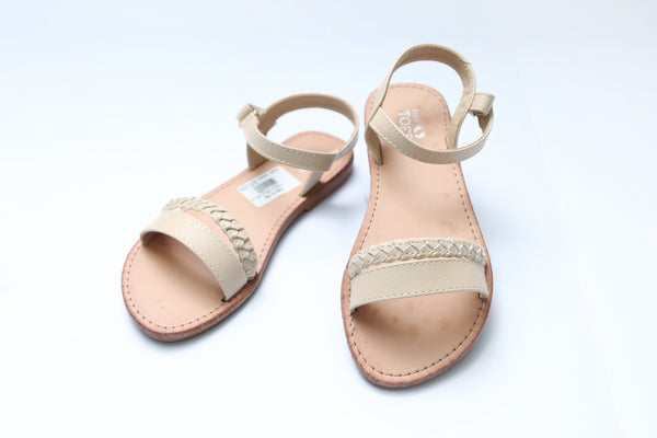 MEDIUM GIRL SANDAL BEIGE/PINK - 21155