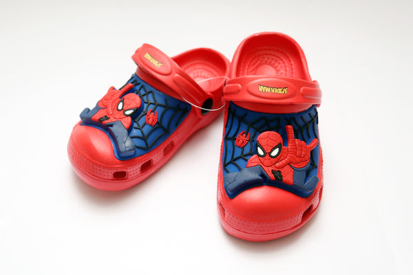 MEDIUM BOY CHARACTER RUBBER CROCS SPIDER MAN 24-29 - 21224