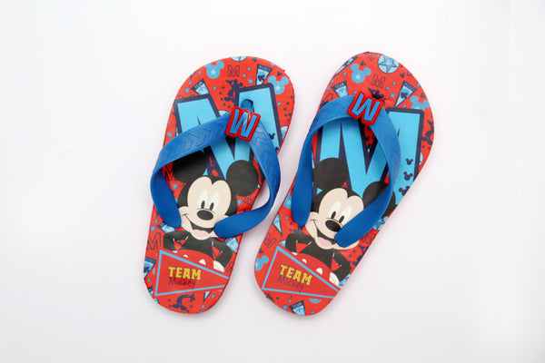 BOY CHARACTER RUBBER SLIPPER - 21279