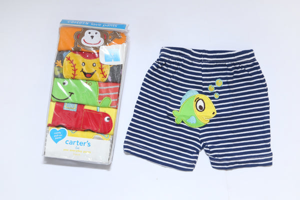 CARTERS BABY SHORTS PACK 5 - 21289