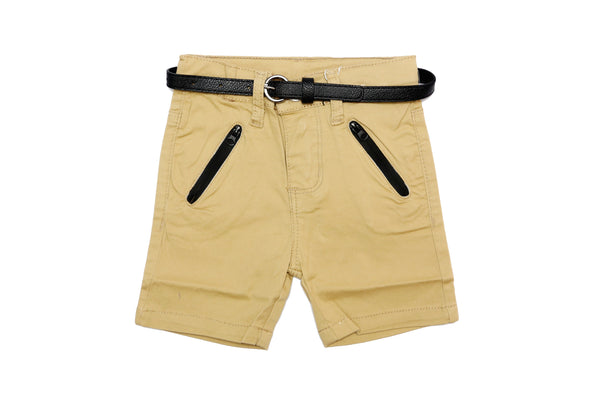 BABY BOY SHORTS WITH BELT - 21387