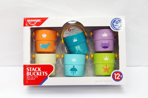 COLORFUL STACKING BUCKET - 21614