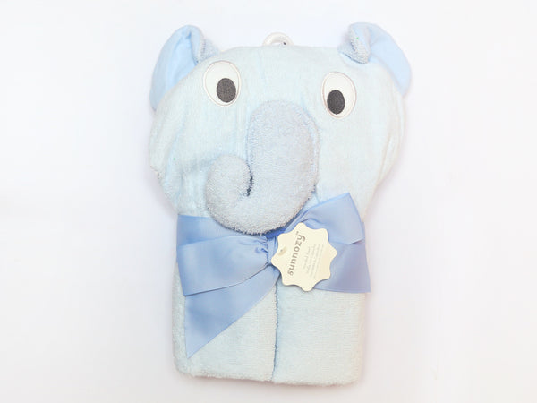 CARTERS HOODED TOWEL CHARACTER ELEPHANT - 21717
