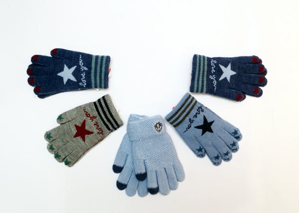 BOY WOOLEN GLOVES - 21867
